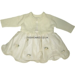 Fairy Cream Baby Girls Dress
