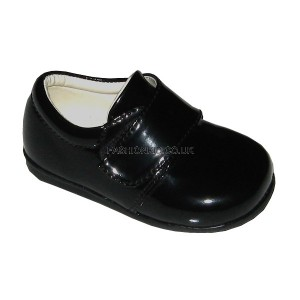 Prince Black Baby Boys Shoes