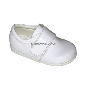 Prince White Baby Boys Shoes