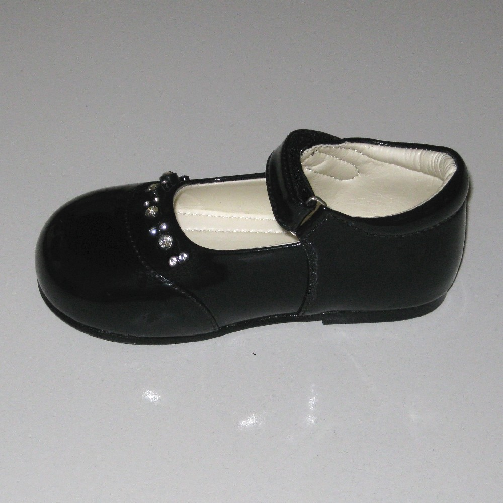 Black Baby Shoes New Toddler Boys