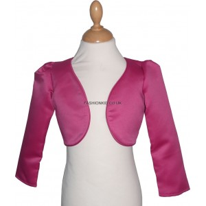 Girl Bolero Top - Burgundy