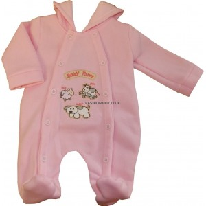 All in One Pink Romper Suit