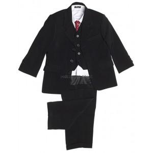 5 Piece Classic Black Suit