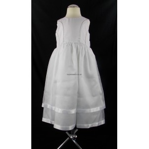 Plain Cream Party Bridesmaid Dress