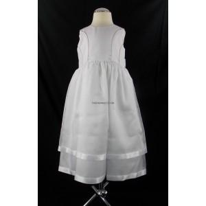 Plain White Party Bridesmaid Dress