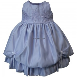 Flowery Formal Lilac Party Girls Dress