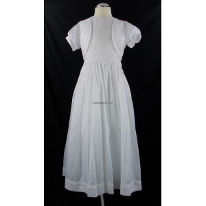 Girls White Communion Dress