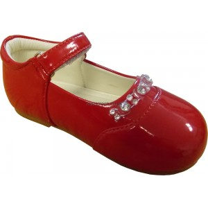 Diamond Red Baby Girls Shoes